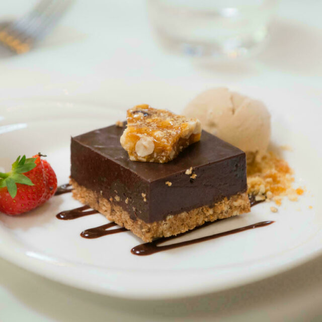 Wedding chocolate dessert