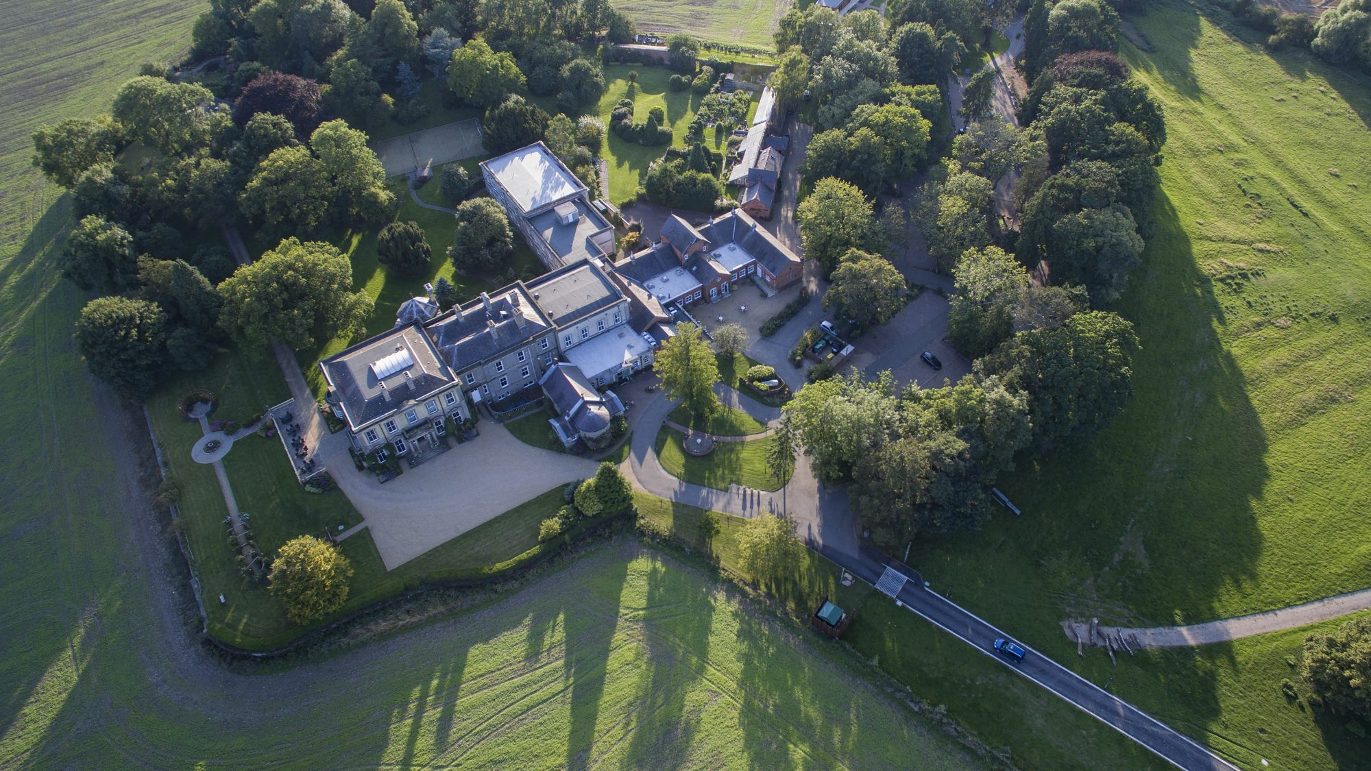 Aerial image of Hothorpe Venues