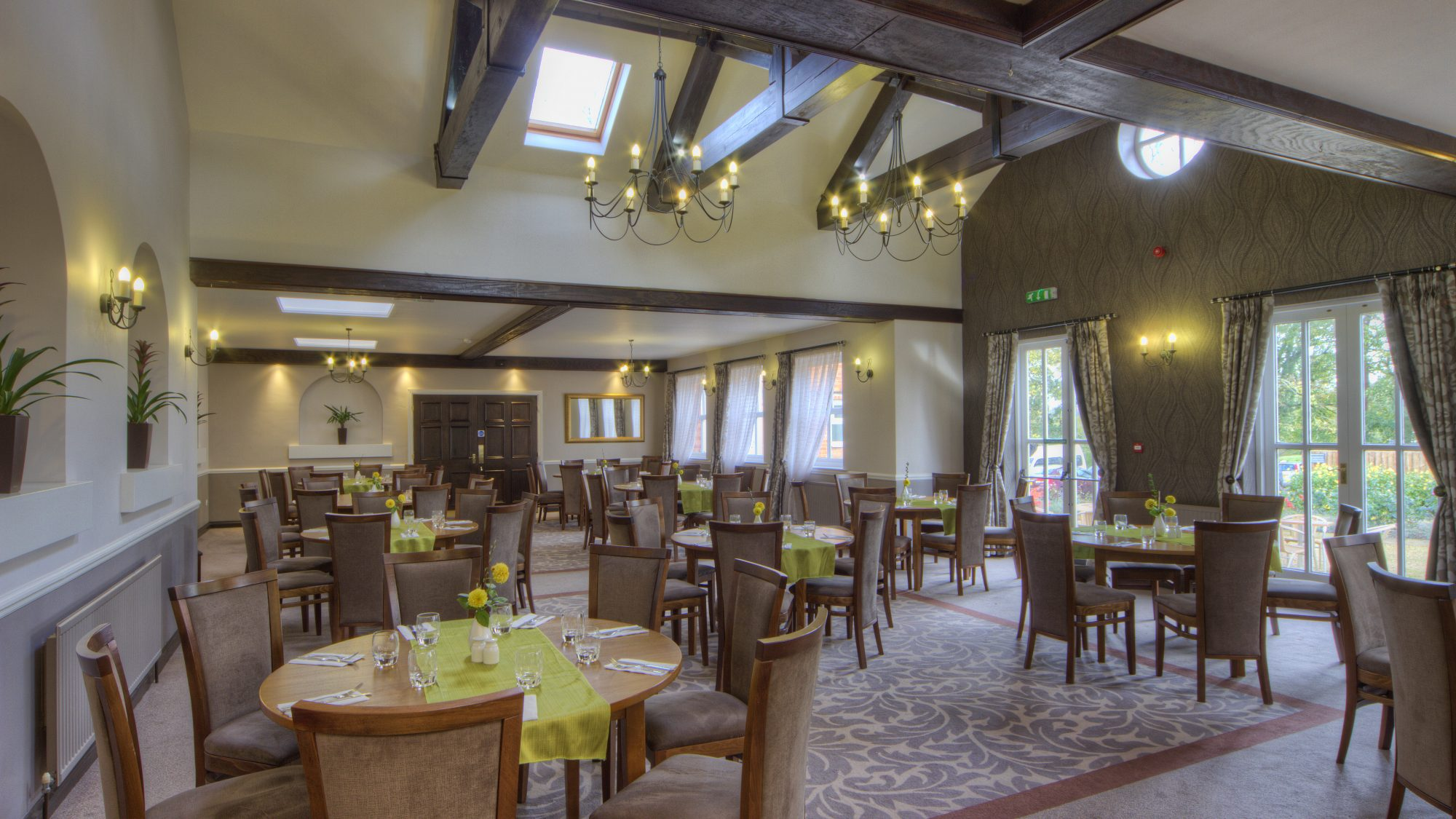 Langton dining room Hothorpe Hall