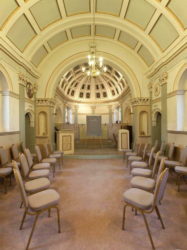 Chapel informal meeting layout