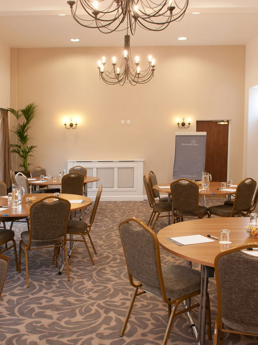 Naseby Suite cabaret conference style