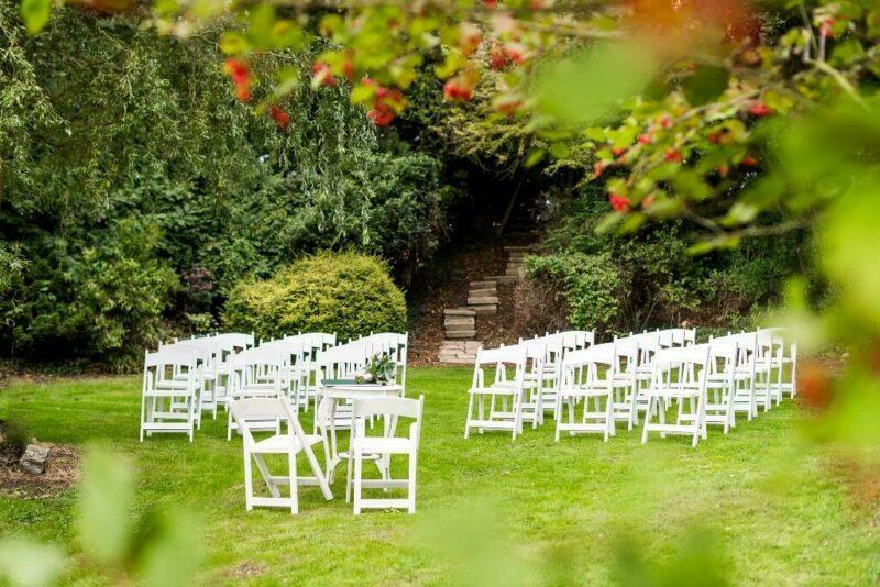 Hohtorpe Hall outdoor ceremony