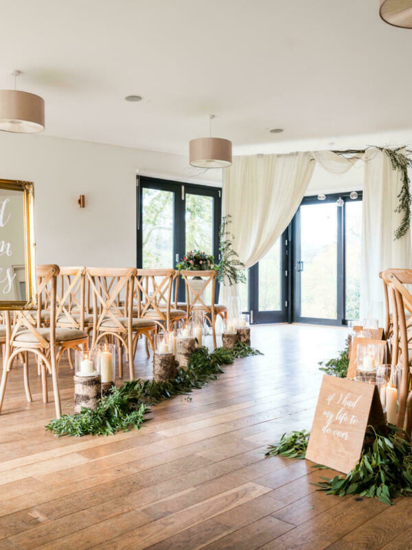 The Woodlands wedding venue interior