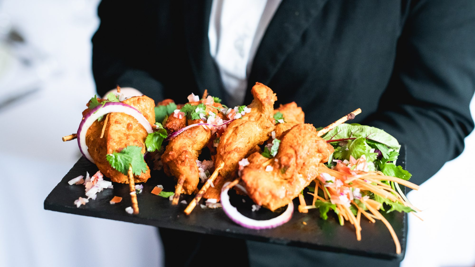 Asian weddings canapes