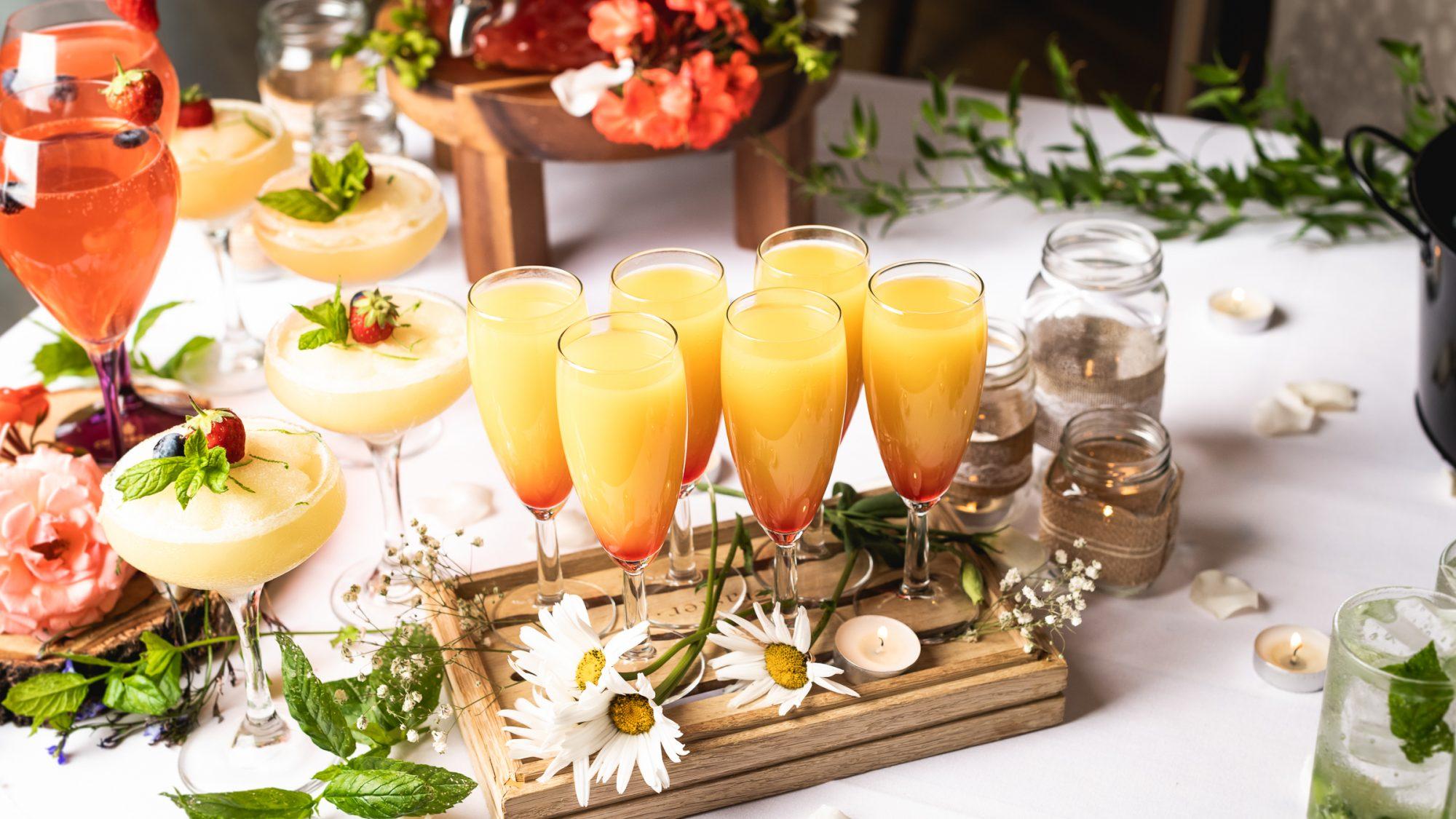 Asian wedding drinks