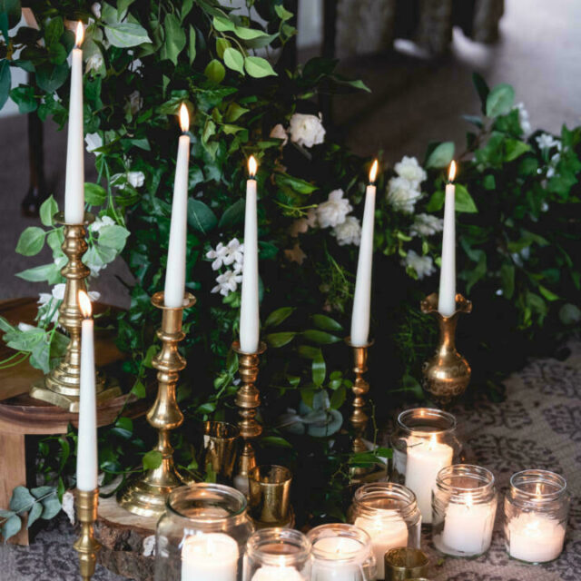 Hothorpe hall wedding styling