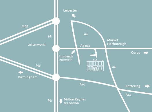 Hothorpe Venues location map
