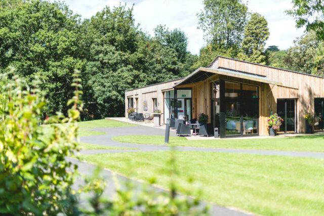 Woodland venue exterior