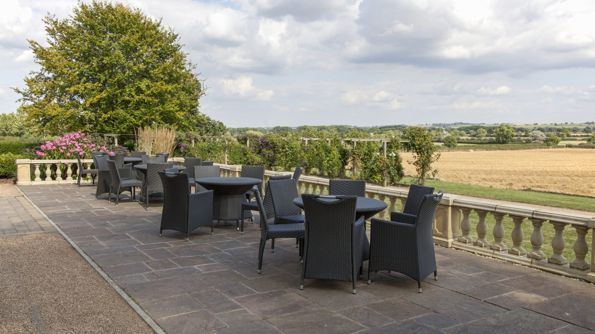 Top Terrace Hothorpe Hall