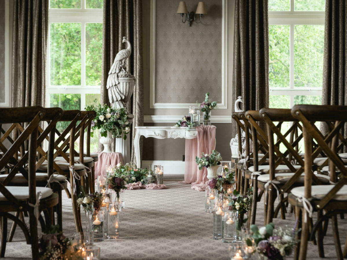 Hothorpe hall asian wedding styling