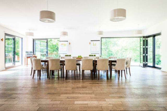 Woodlands meeting table